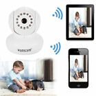White Wireless WIFI IP PTZ Camera IR LED Audio Webcam Network Night vision US