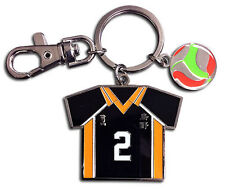**License** Haikyuu Keychain SD Koshi Sugawara's No.2 Volleyball Uniform #38596