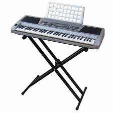 Clavier DynaSun MK939 MIDI LCD 61 Touches Pitch Bend E-Piano Keyboard + Stand