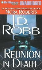 J D Robb REUNION IN DEATH Unabridged CD *NEW* FAST 1st Class Ship!