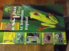 4µ? Revue Reptil Mag n°14 Faire terra verre collé Terrarium tropcal Serpent blé