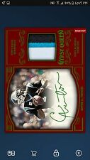 2017 Topps Huddle Digital Cam Newton Gypsy Queen Red Relic Signature