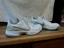NIKE AIR - Womens Size 11 - Court Sneakers - Laces  (White)
