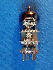 SUPERB AVO TESTED MULLARD ECC88 VALVES. FREE MATCHING! TEST NOS = 6DJ8 TUBES