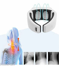 Wireless Remote Control Neck Massager Cervical Vertebrae Infrared Therapy High