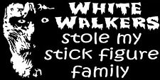FUNNY FAMILY STICKER WHITE WALKERS STOLE MY FAMILY GAME OF THRONES STICKER
