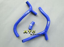 For HONDA CRF450R CRF450 2009 2010 2011 2012 Y SILICONE RADIATOR HOSE BLUE