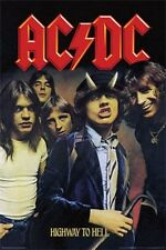 ACDC POSTER - HIGHWAY TO HELL AC/DC - ANGUS YOUNG