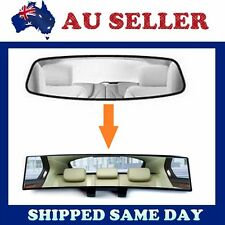 300mm Universal Car Rear View Mirror Convex Curve Interior Wide Blind Spot Safe