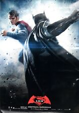 BATMAN V SUPERMAN DAWN OF JUSTICE 2016 Ver A DS 2 Sided 4x6' Bus Shelter Poster