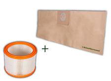 12 Staubsaugerbeutel Nilfisk Wap Alto SQ 450-11-21-31 +1 x Luftfilter(PES)Filter