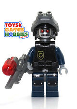 *NEW* LEGO Robo SWAT w/ Goggles & Gun 70808 Movie Robot Emmit Wildstyle Cycle