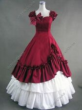 Victorian Belle Gown Dress Theater Princess Vampire Halloween Costume V 208 XXL