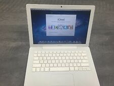 "Apple White MacBook 13"" Mac Laptop Computer, New Battery, NEW AC, 3 MON Warranty"