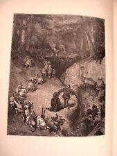 GRAVURE SUR BOIS DE G.DORE 1899 RIQUET A LA HOUPPE
