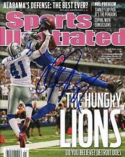 CALVIN JOHNSON Detroit Lions SIGNED pp 8x10 Sports Illustrated SI Photo PROOF
