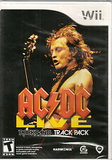 AC/DC Live: Rock Band Track Pack  (Wii, 2008) **New & Sealed**  Free Shipping