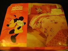 NEW 4 pc Disney's MINNIE MOUSE Pink FULL size Sheet Set