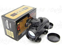 Tactical 1x30mm Holographic Red/Green Reflex Dot Sight Scope Weaver Rail Mount