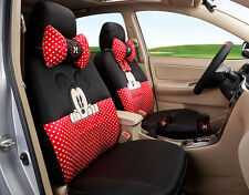 18pcs set cute Carton Mickey Mouse Universal car seat cover seasons seat covers