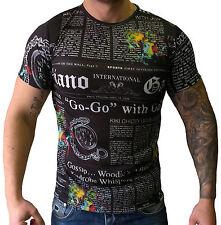 John Galliano Men's T-Shirt Newspaper Size L New