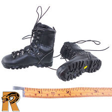 SAS Black Ops - Boots (for Feet) - 1/6 Scale - DID Action Figures