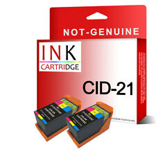 2 Colour Ink Cartridge For Dell 21 All In One P713w P513w V313 V313w V515w V715w