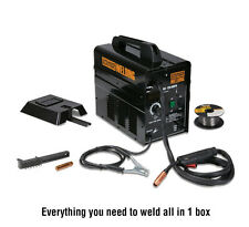 New 90 120 amp Flux Welder Mig Wire Welding Machine Welder Tool No Gas Dual Volt