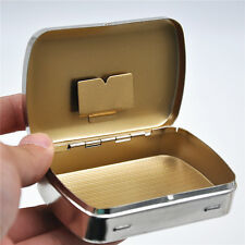 1 x Portable Cigarette Metal Tobacco Box For 70 mm Paper storage case Pocketsize