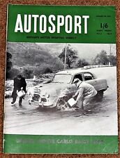 Autosport 30/1/53 -  MONTE CARLO RALLY FULL REPORT - THE RACING CARS of SPAIN