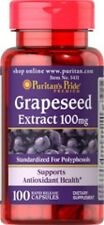 GRAPESEED EXTRACT 100 MG POOR BLOOD CIRCULATION BENEFIT HEART HEALTH 100 CAPSULE