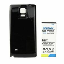 8000mAh Extended Battery With Black Back Cover For Samsung Galaxy Note 4 SM-N910