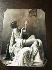 Ziegfeld Alfred Cheney Johnston Girl tintype C094RP