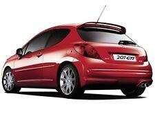 SPOILER posteriore GTI replica per Peugeot 207