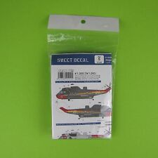 1:144 sea king Kit Belgian Air Force Black Beauty royal navy 771 aigles