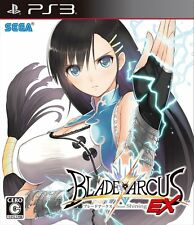 Used PlayStation 3 PS3 Blade Arcus from Shining EX Free Shipping
