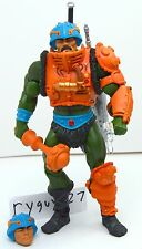 MOTUC, Man-At-Arms, figure, Masters of the Universe Classics, complete, He-Man
