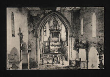 37745/ AK - 1. Weltkrieg - Inneres einer zerstörten Kirche - *