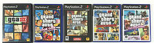 Lot 5 Jeu GTA 3 III + Vice City + San Andreas + Liberty City Stories PS2