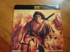 The Last Of The Mohicans Laser Disc Movie C. 1992 113 Minutes Rated: R