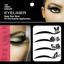 Temporary Tattoo Eye Shadow Eyelid + lip Transfers Eyeliner Sticker easy use