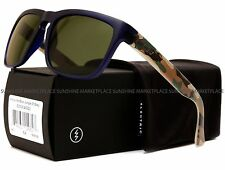 NEW Electric Knoxville Sunglasses-Blue Jungle Camo-Grey Lens-SAME DAY SHIPPING!
