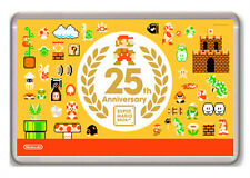 SUPER MARIO BROS 25 ANNIVERSARY FRIDGE MAGNET IMAN NEVERA