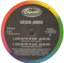 GRACE JONES - Love On Top Of Love (The Cole & Clivilles & the fu) - Capitol