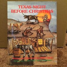 The Night Before Christmas: Texas Night Before Christmas by James Rice (1981,...