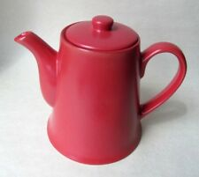 Bright Red Teapot / Coffee Pot Modern Design