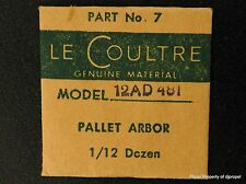 Jaeger LeCoultre Pallet Arbor Cal 481 Part # 714 (7) New Old Stock