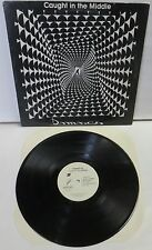 Damascus Caught In The Middle LP Record Private indie Christian AOR Rock CCM