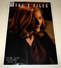 The X FILES # 8  IDW Comic  Nov 2016   NM   SUBSCRIPTION COVER VARIANT