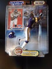 Starting Lineup Elite Football Randy Moss Vikings EXC!